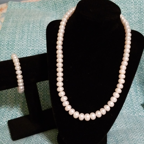 Honora Jewelry - Honora pearl Necklace set